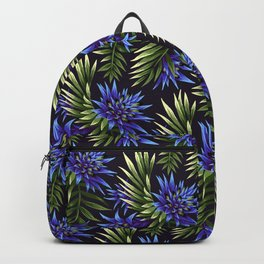Aechmea Fasciata - Blue/Green Backpack