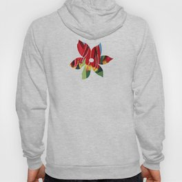 Red & Yellow Tulips Hoody