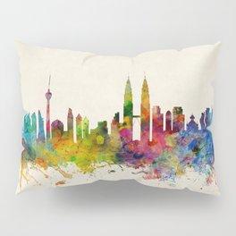 Kuala Lumpur Malaysia Skyline Pillow Sham