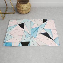 Geometric Washout #society6 #decor #buyart Rug
