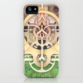 Composition III iPhone Case