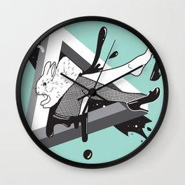 Lady Bunny Wall Clock