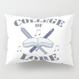 College of Lore Pillow Sham