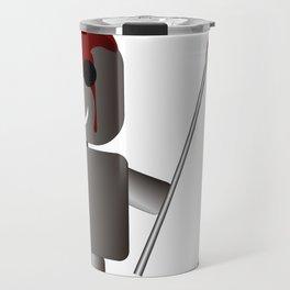 Robo kuudere Travel Mug