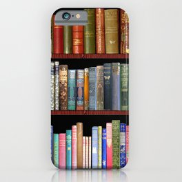 Vintage books ft Jane Austen & more iPhone Case