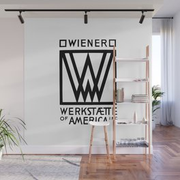 Wiener Werkstaette of America Wall Mural