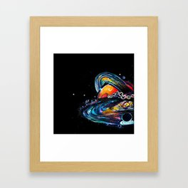 Universe Unchained Framed Art Print
