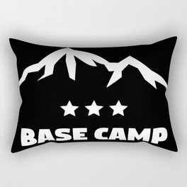 Mount Everst Base Camp Rectangular Pillow