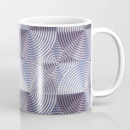 Shiny silver metal embossed surface Coffee Mug