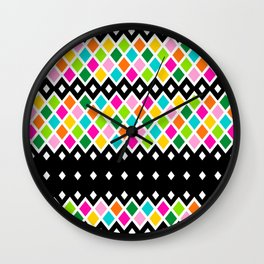DIAMOND - Black Wall Clock