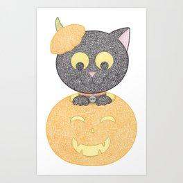 Pumpcat Art Print