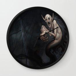 Wild Vampire Wall Clock