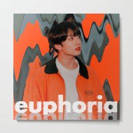 Artwork K-Pop BTS Jungkook Metal Print