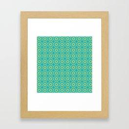 Greenflower Framed Art Print