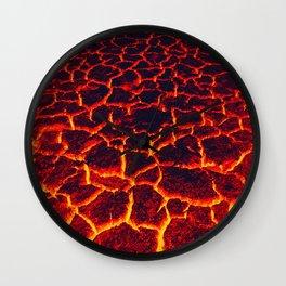 active lava Wall Clock