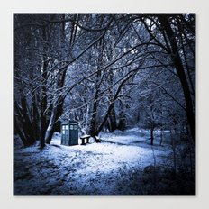 Tardis Forest Canvas Print
