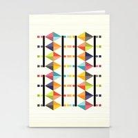 polygon Stationery Cards featuring Polygon by Sudário