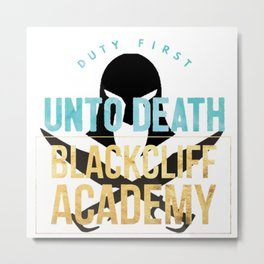 black cliff academy - an ember Metal Print