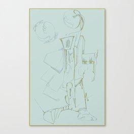 Titled Canvas Print