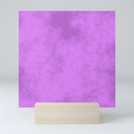 Grape Cotton Candy Mini Art Print