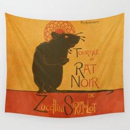Le Rat Noir Wall Tapestry