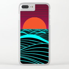 Don't let the sun go down on me Clear iPhone Case
