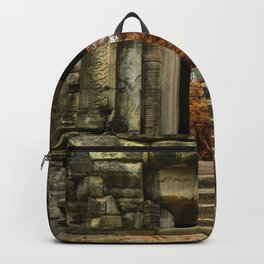Mysterious Temple Backpack
