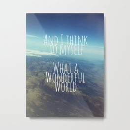 And I Think To Myself... Metal Print