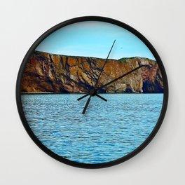 Le Rocher Perce panoramic Wall Clock