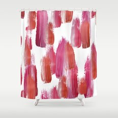 Pink Mood Shower Curtain