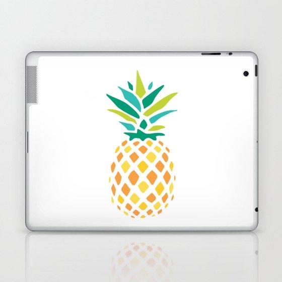 Summer Pineapple Laptop & iPad Skin