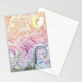 AG ocean floor Stationery Cards