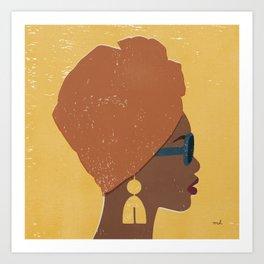 Kenya Couture Art Print