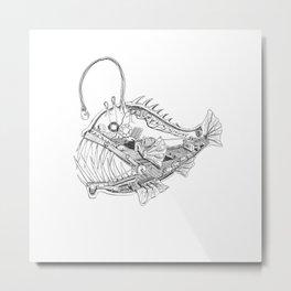 Angler Works Metal Print