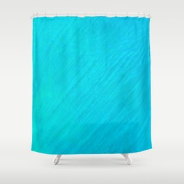 Turquoise Marble River Shower Curtain