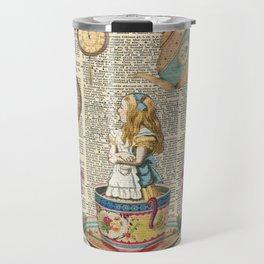It's Always Tea Time - Alice In Wonderland Travel Mug
