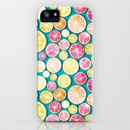 Citrus bath iPhone Case