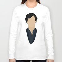 sherlock holmes Long Sleeve T-shirts featuring Sherlock Holmes by trenzalords