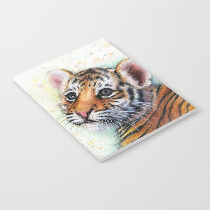 Tiger Cub Cute Baby Animals Notebook