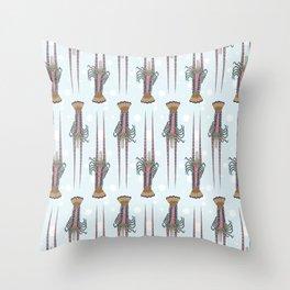 Extraordinary Lobster Pattern Throw Pillow
