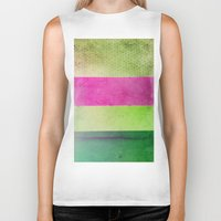 olivia joy Biker Tanks featuring Color Joy by Olivia Joy StClaire