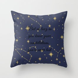 Second Chance Summer quote by Morgan Matson Throw Pillow
