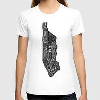 manhattan T-shirts featuring Manhattan by Robert Farkas