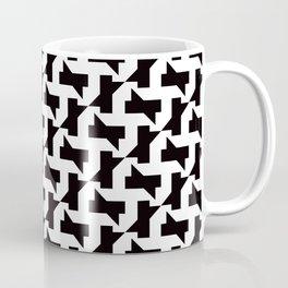 Geometric Pattern 250 (sharp shapes) Coffee Mug