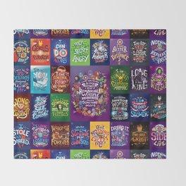 IW Complete set Throw Blanket