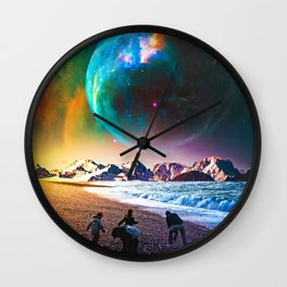 Finders Keepers Wall Clock