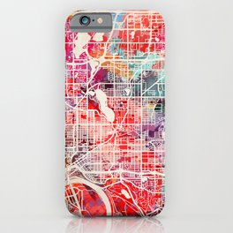 Maplewood map Minnesota MN 2 iPhone Case