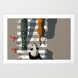 zebra crossing #2 Art Print