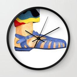 Summer sandals Wall Clock