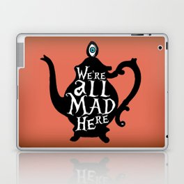 """""""We're all MAD here"""" - Alice in Wonderland - Teapot - 'Mad Hatter Melon' Laptop & iPad Skin"""